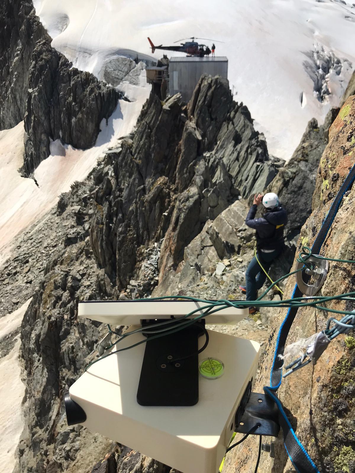 Glacier Combe Maudite