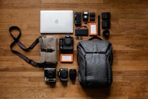 Matériel pour photographe