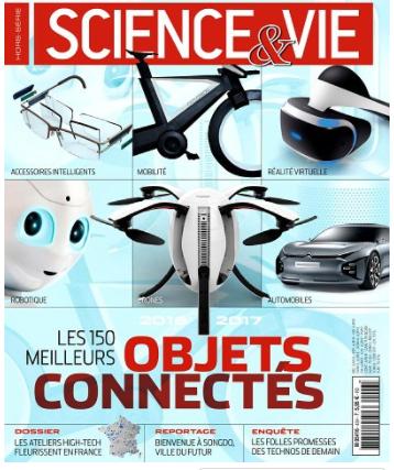 Science et vie les 150 meilleurs objets connectés
