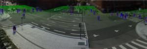 Plan 3D localisation des piétons